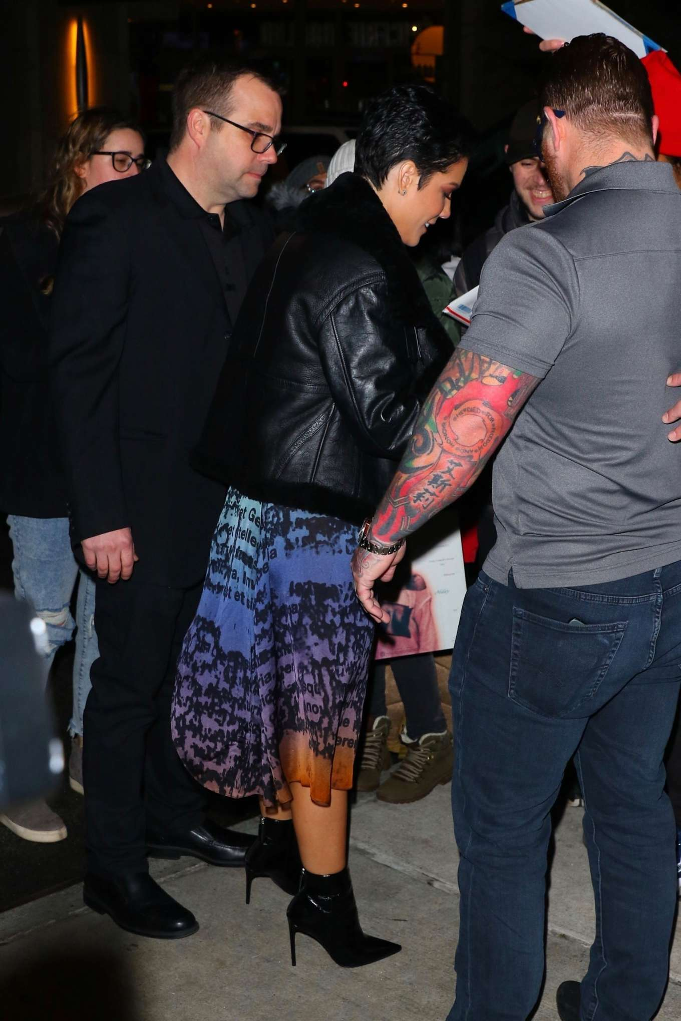 Halsey 2020 : Halsey – Arrives at the SNL After Party in New York-06