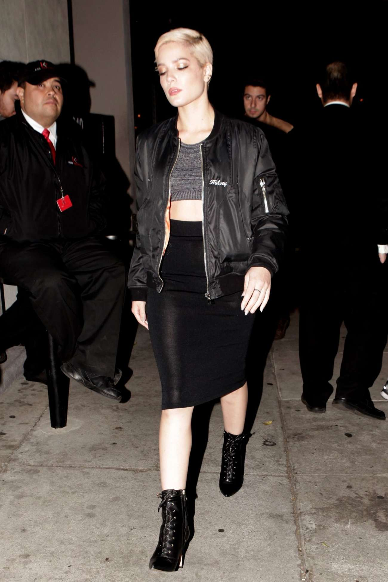Halsey at Craig's Restaurant in West Hollywood