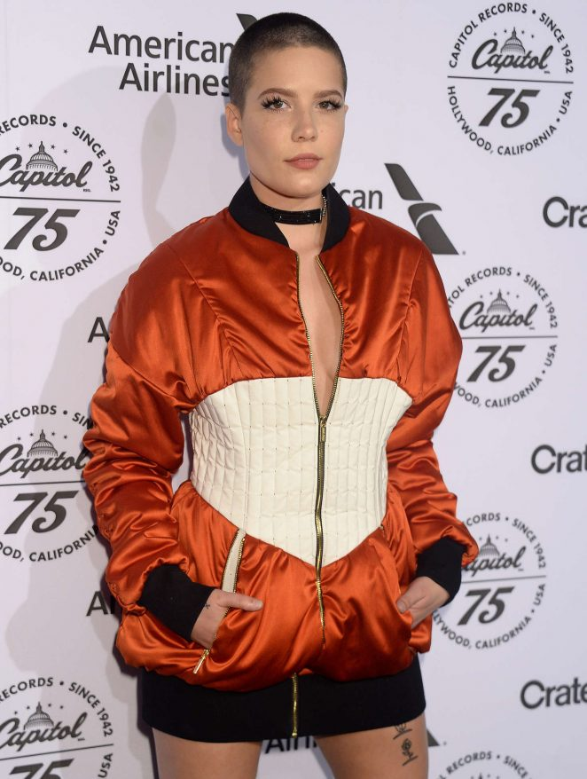 Halsey - Capitol Records 75th Anniversary Gala in Los Angeles