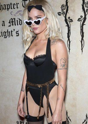 Halsey - Hosts Playboy's Midsummer Night's Dream in Las Vegas