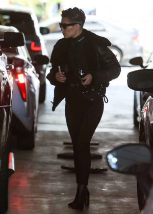 Halsey in Black Jeans - Out in Beverly Hills