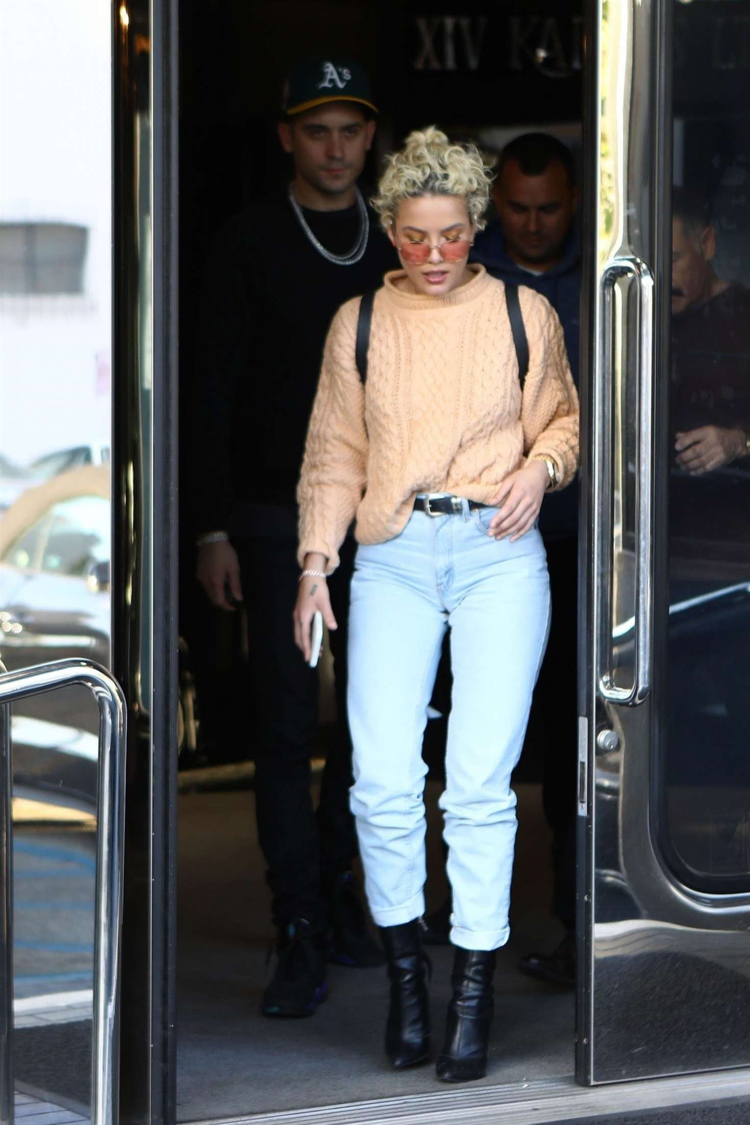 Halsey in Jeans - Out in West Hollywood