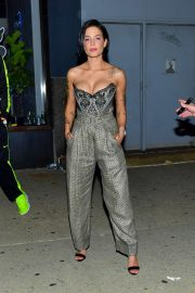 Halsey - Leaves Rihanna's Fenty After Party in NY