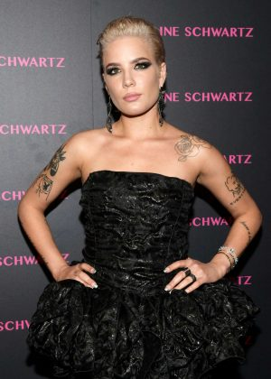Halsey - Lorraine Schwartz Eye Bangles Collection Launch in West Hollywood