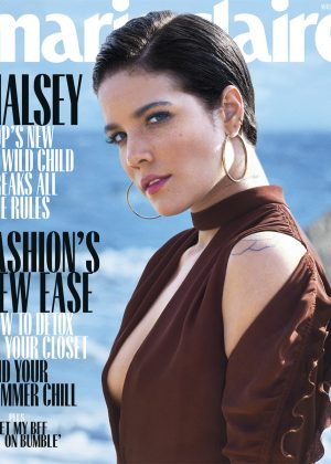 Halsey - Marie Claire Magazine (August 2018)