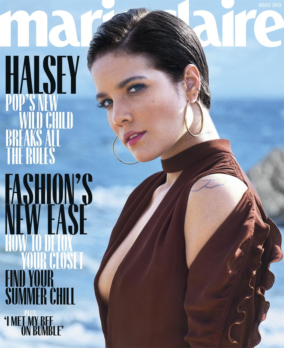 Halsey - Marie Claire Magazine (August 2018)