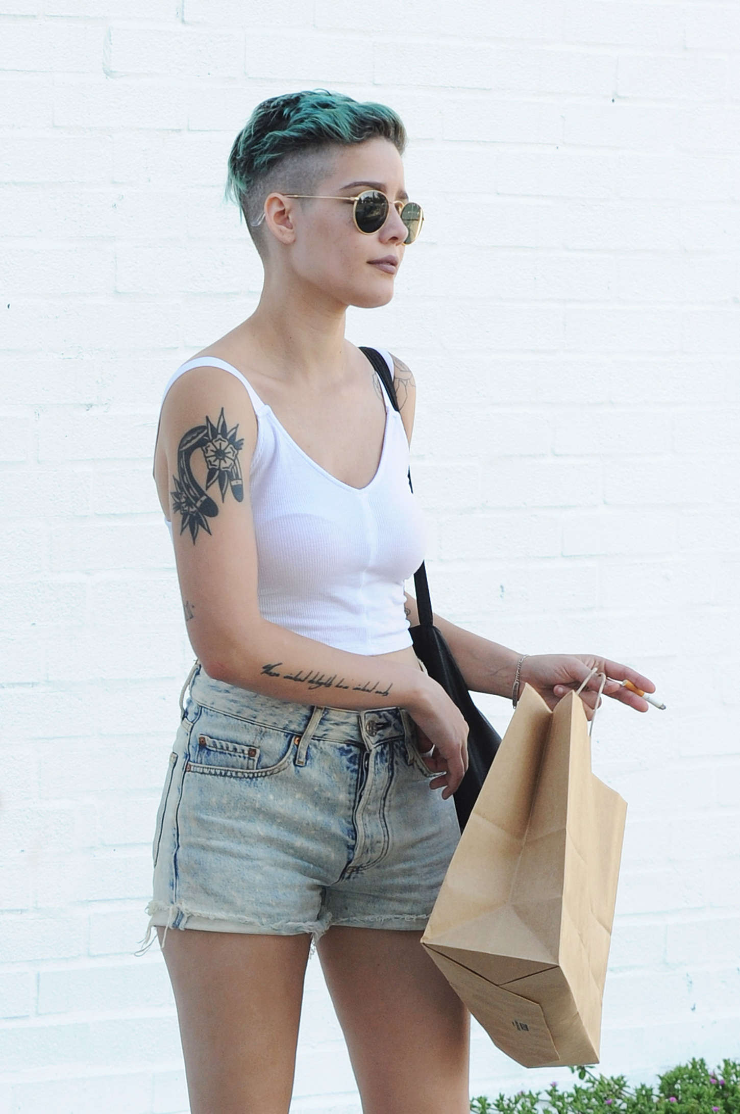 Halsey Out And About In La Gotceleb