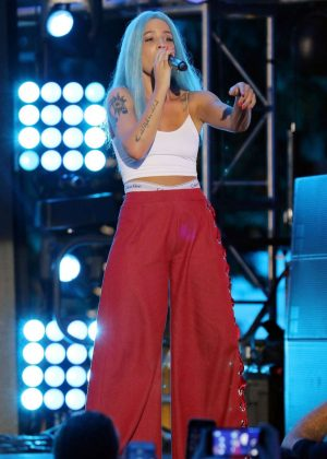 Halsey - Performs at iHeartSummer '17 Weekend in Miami Beach