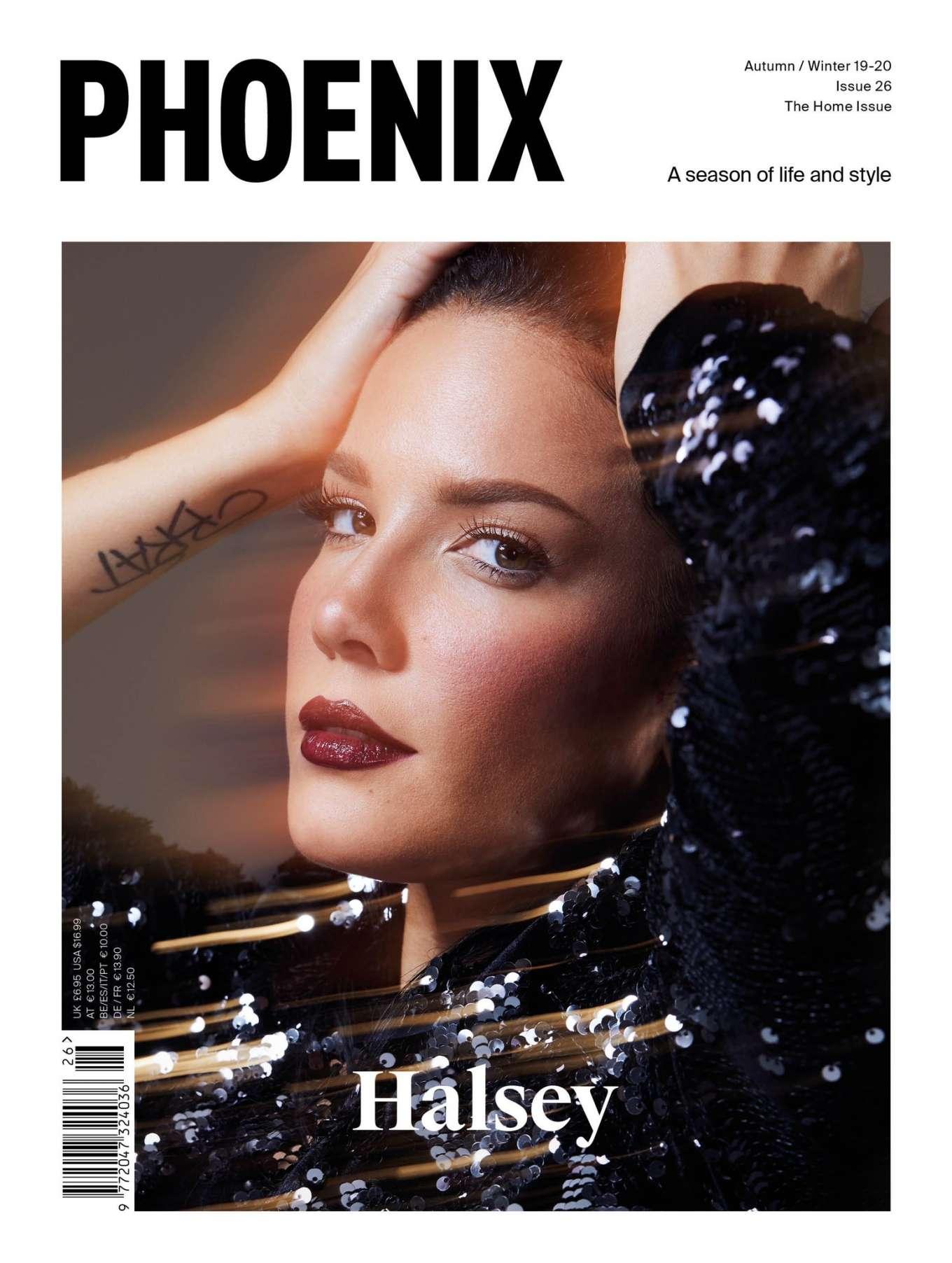 Halsey 2019 : Halsey – Phoenix Magazine 2019-01
