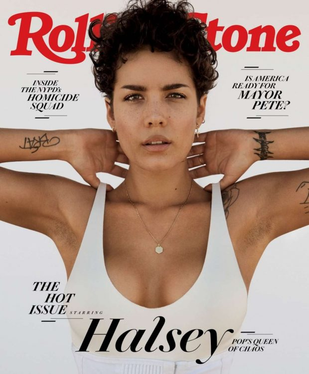 Halsey - Rolling Stone Cover Magazine (July 2019)