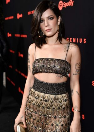 Halsey - Spotify Secret Genius Awards 2017 in Los Angeles