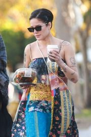 Halsey - Spotted while out at Melrose Place in West Hollywood
