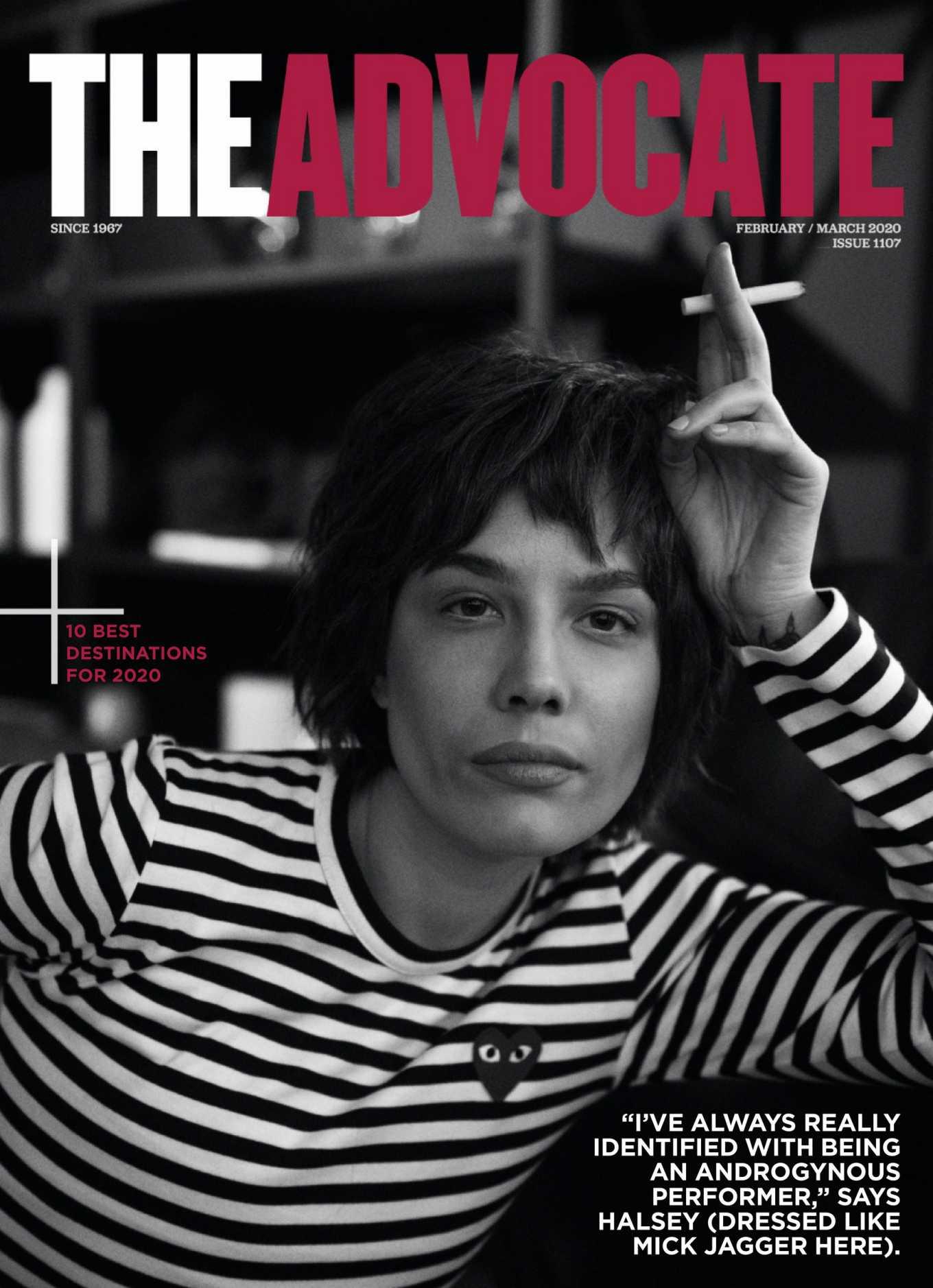 Halsey 2020 : Halsey – The Advocate Magazine (February – March 2020)-07