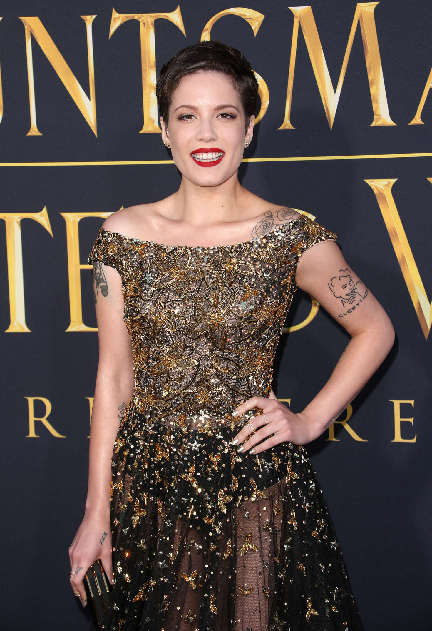 Halsey - 'The Huntsman: Winter's War' Premiere in Westwood
