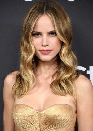 Halston Sage - 2017 InStyle and Warner Bros Golden Globes After Party in LA