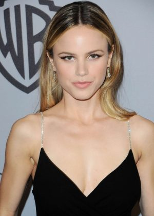 Halston Sage - 2018 InStyle and Warner Bros Golden Globes After Party in LA