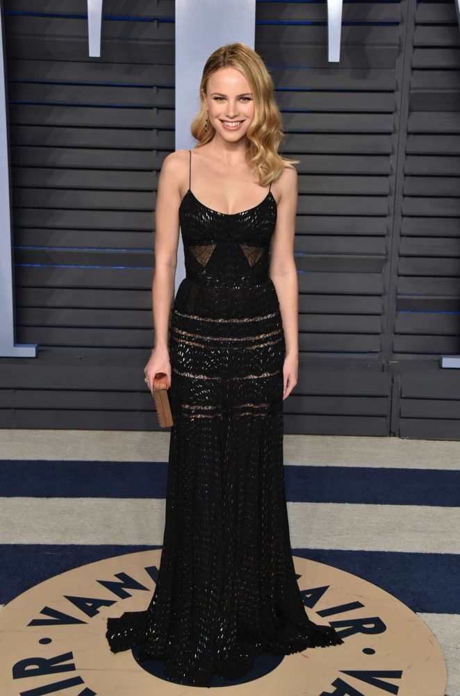 Halston Sage - 2018 Vanity Fair Oscar Party in Hollywood