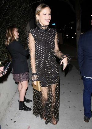 Halston Sage - Arrives for the Vanity Fair Party in LA