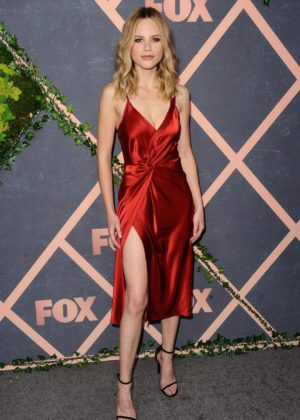 Halston Sage - In Red Dress at Fox Fall Premiere Party Celebration in LA