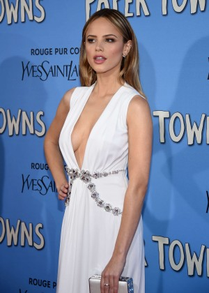 Halston Sage - 'Paper Towns' Premiere in NYC