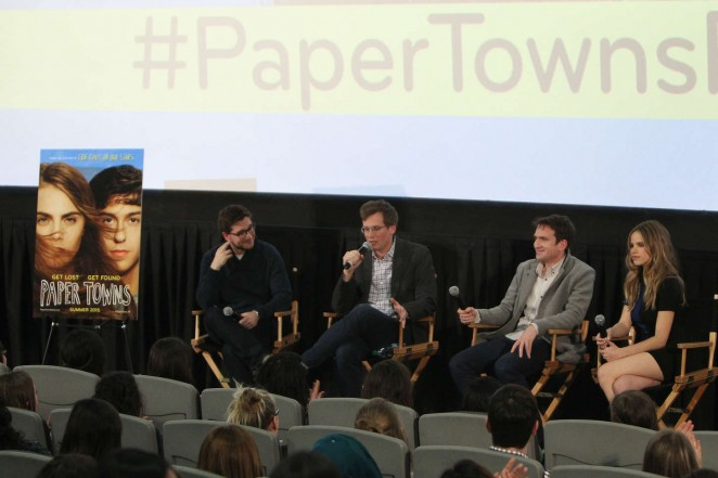 Halston Sage: Paper Towns Trailer Premiere -02