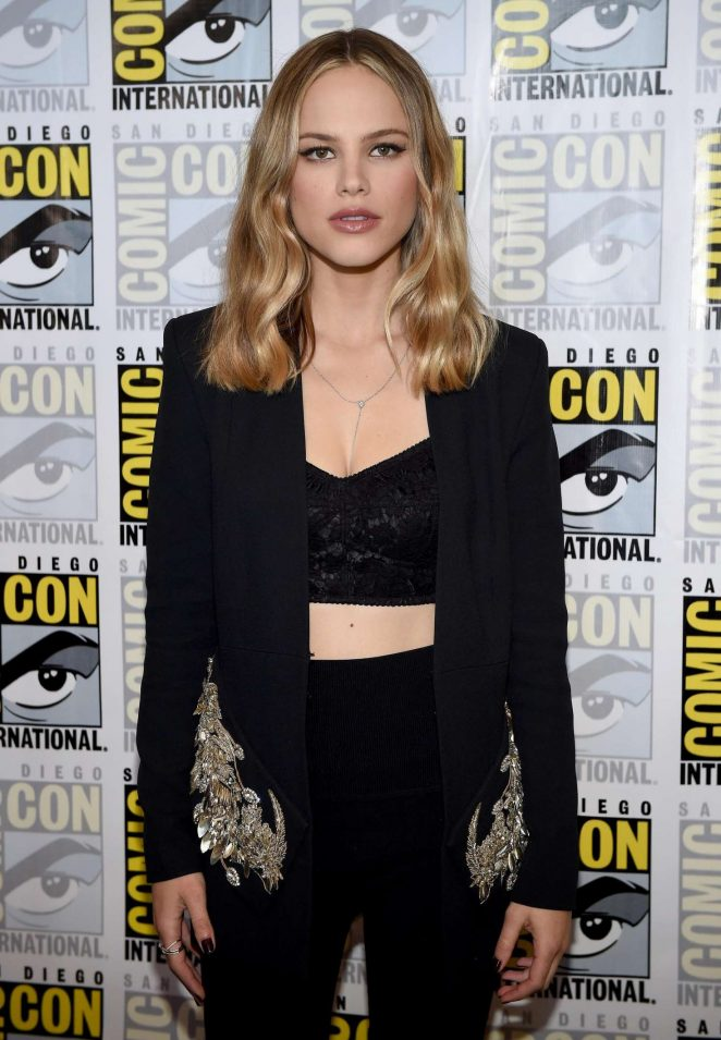 Halston Sage - The Orville Panel at 2017 Comic-Con in San Diego