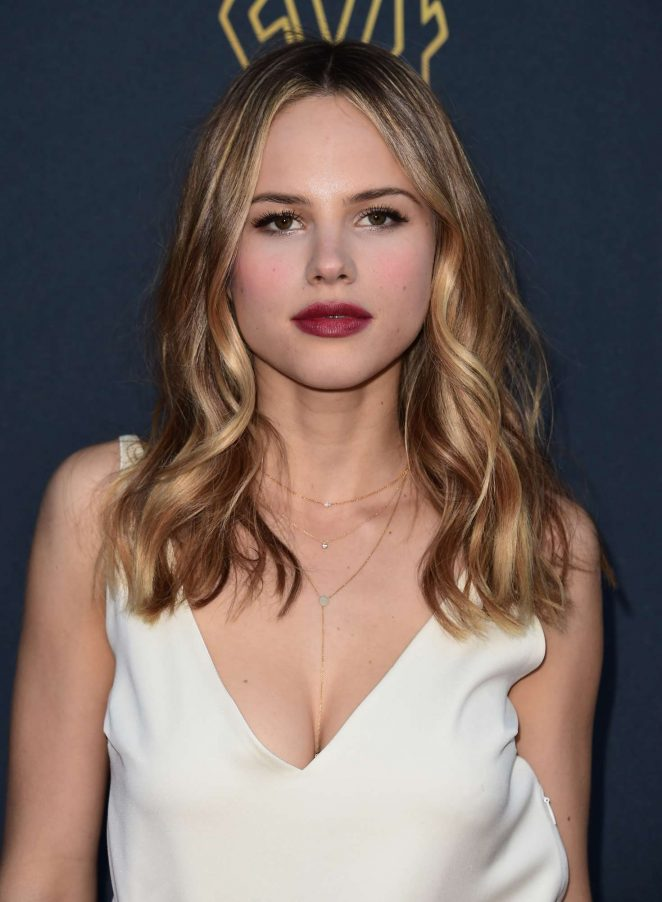 Halston Sage – Twentieth Century Fox Television Screening Gala in LA