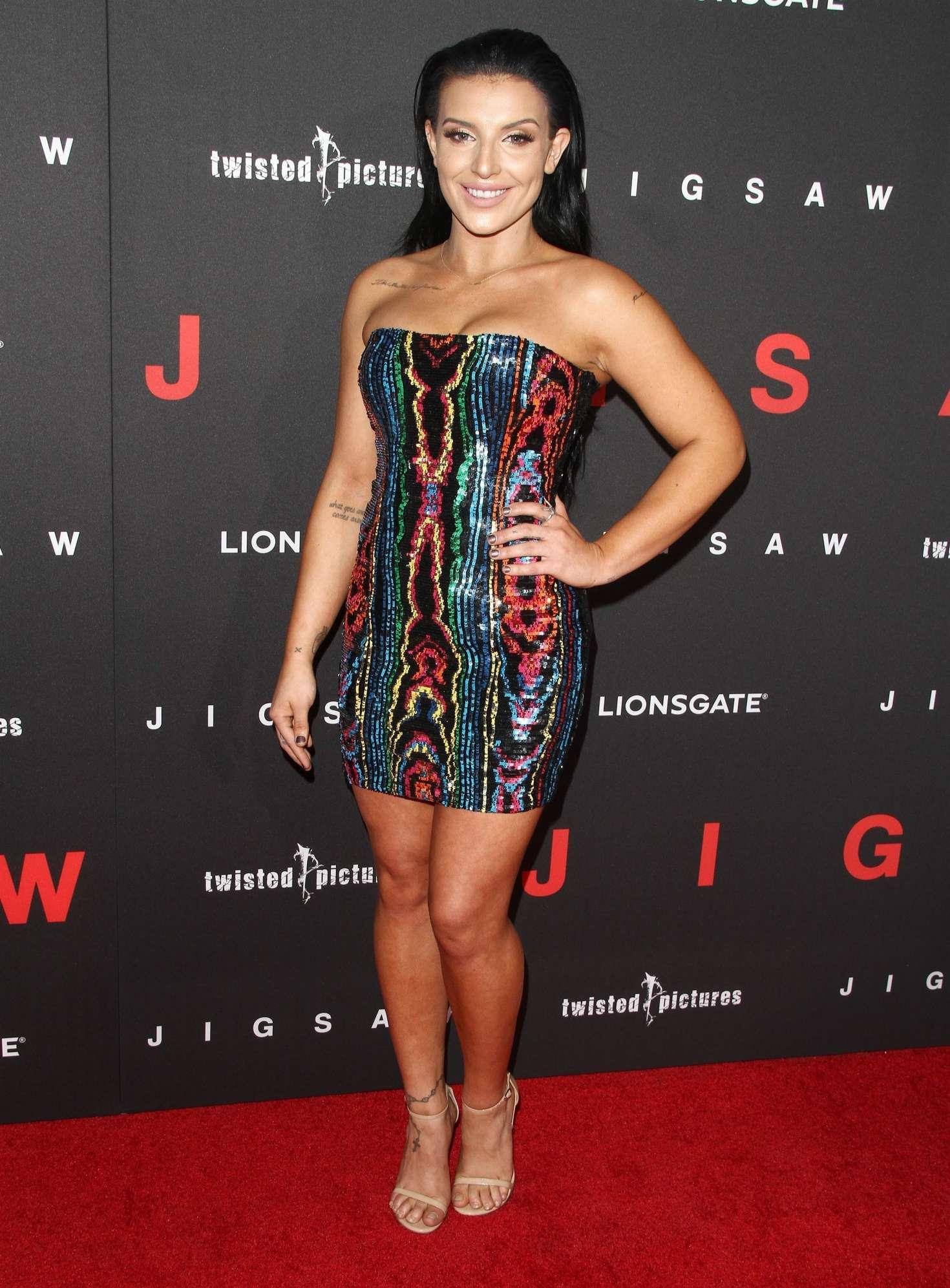 Hana Giraldo - 'Jigsaw' Premiere in Los Angeles