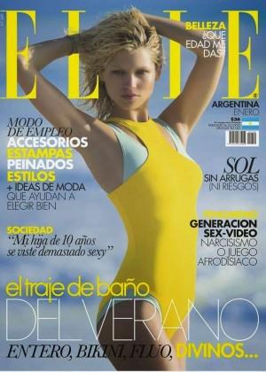 Hana Jirickova - Elle Argentina Cover Magazine (January 2015)
