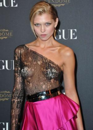 Hana Jirickova - Vogue 95th Anniversary Party in Paris