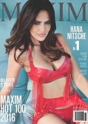 Hana Nitsche - Maxim Switzerland Magazine (November 2016)
