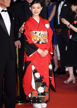 Hana Sugisaki - 'Blade of the Immortal' Premiere at 70th Cannes Film Festival
