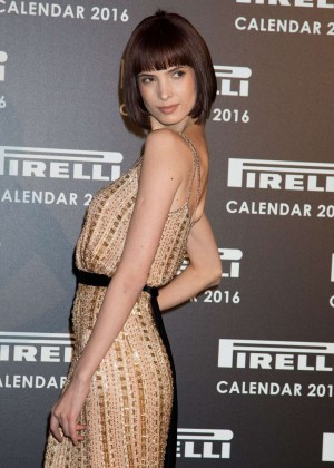 Hanaa Ben Abdesslem - Pirelli Calendar 2016 Gala Evening in London