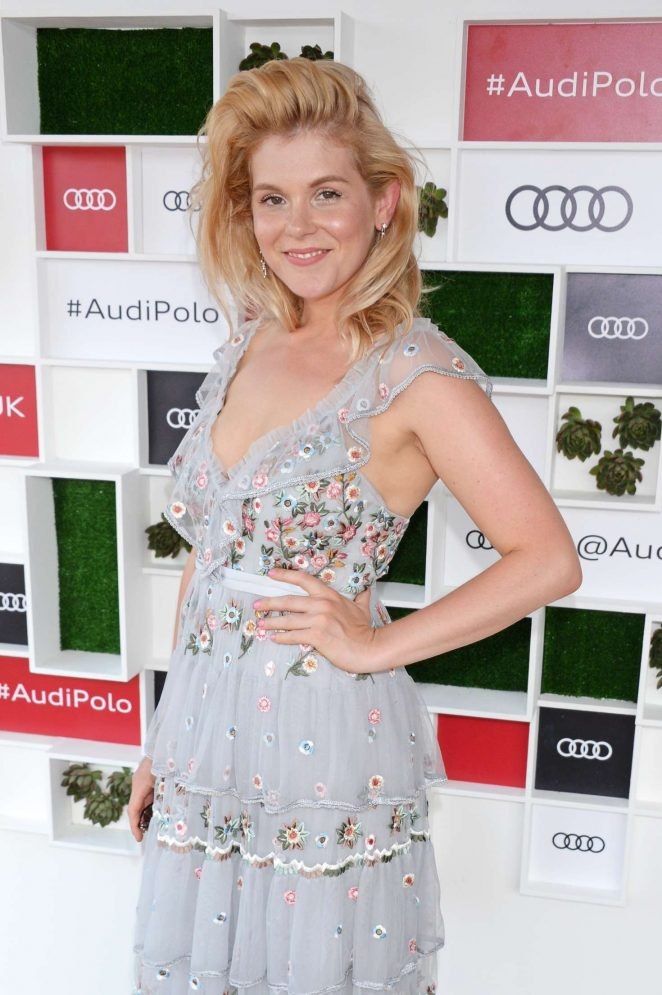 Hannah Arterton - Audi Polo Challenge in Berkshire