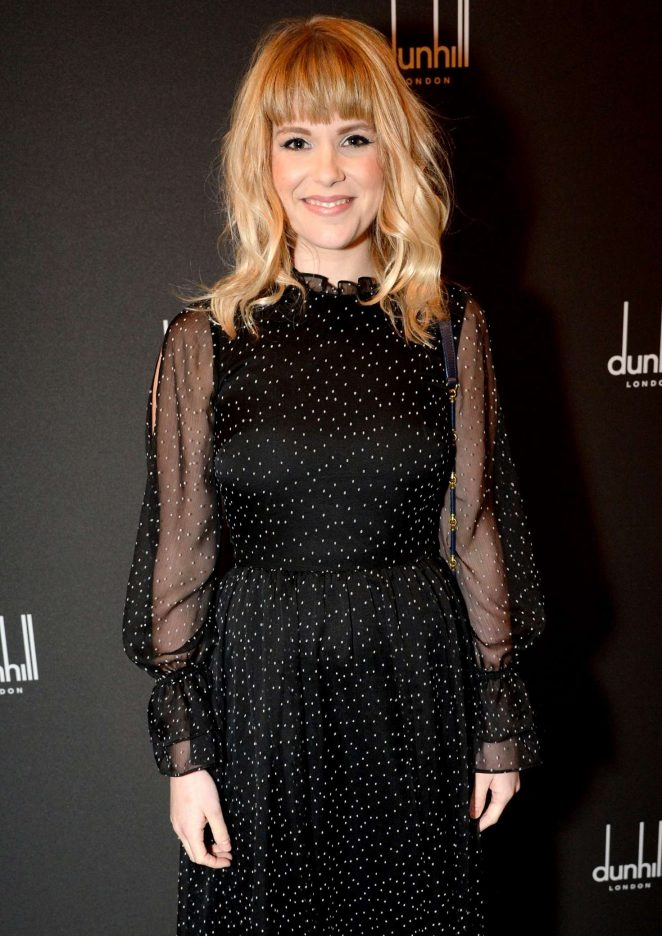 Hannah Arterton - Dunhill and GQ Pre-BAFTA Filmmakers Dinner and Party in London