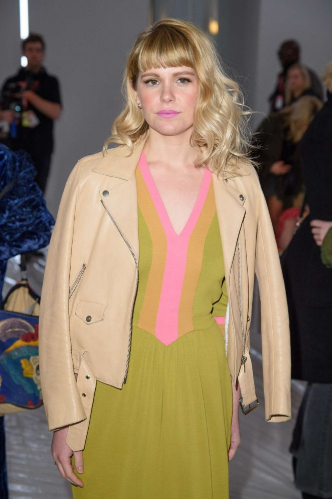 Hannah Arterton - Jasper Conran Fashion Show 2018 in London