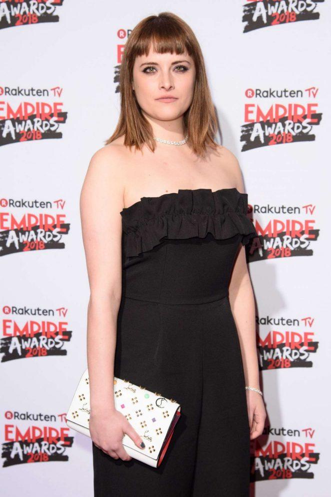 Hannah Britland - 2018 Empire Film Awards in London