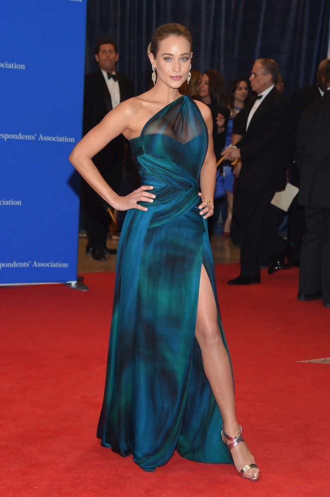 Hannah Davis - 2015 White House Correspondents' Association Dinner in Washington