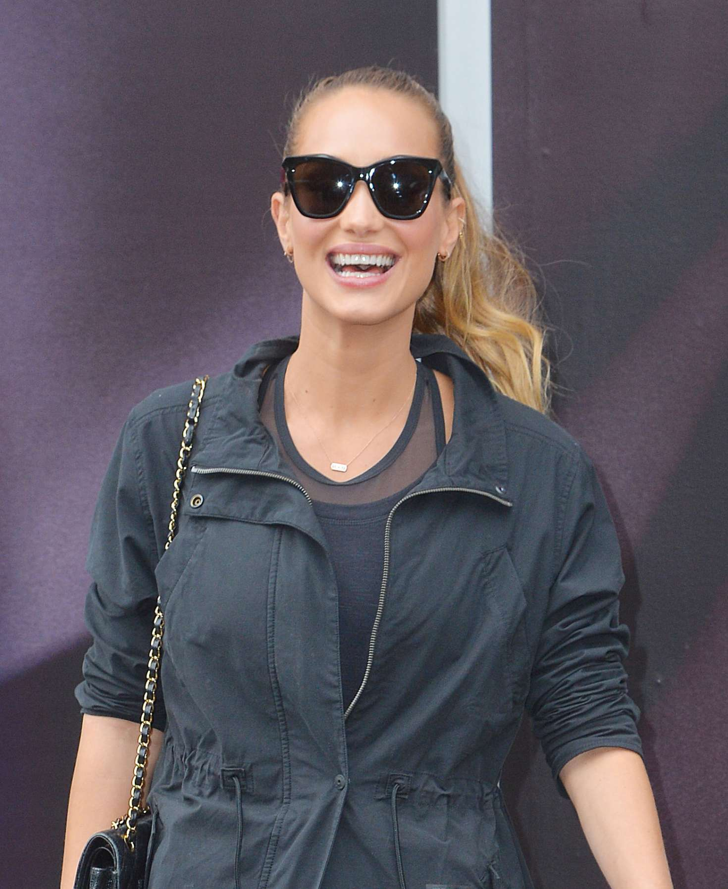 Hannah Davis out and about in New York   Hannah-Davis-out-and-about-in-New-York--02