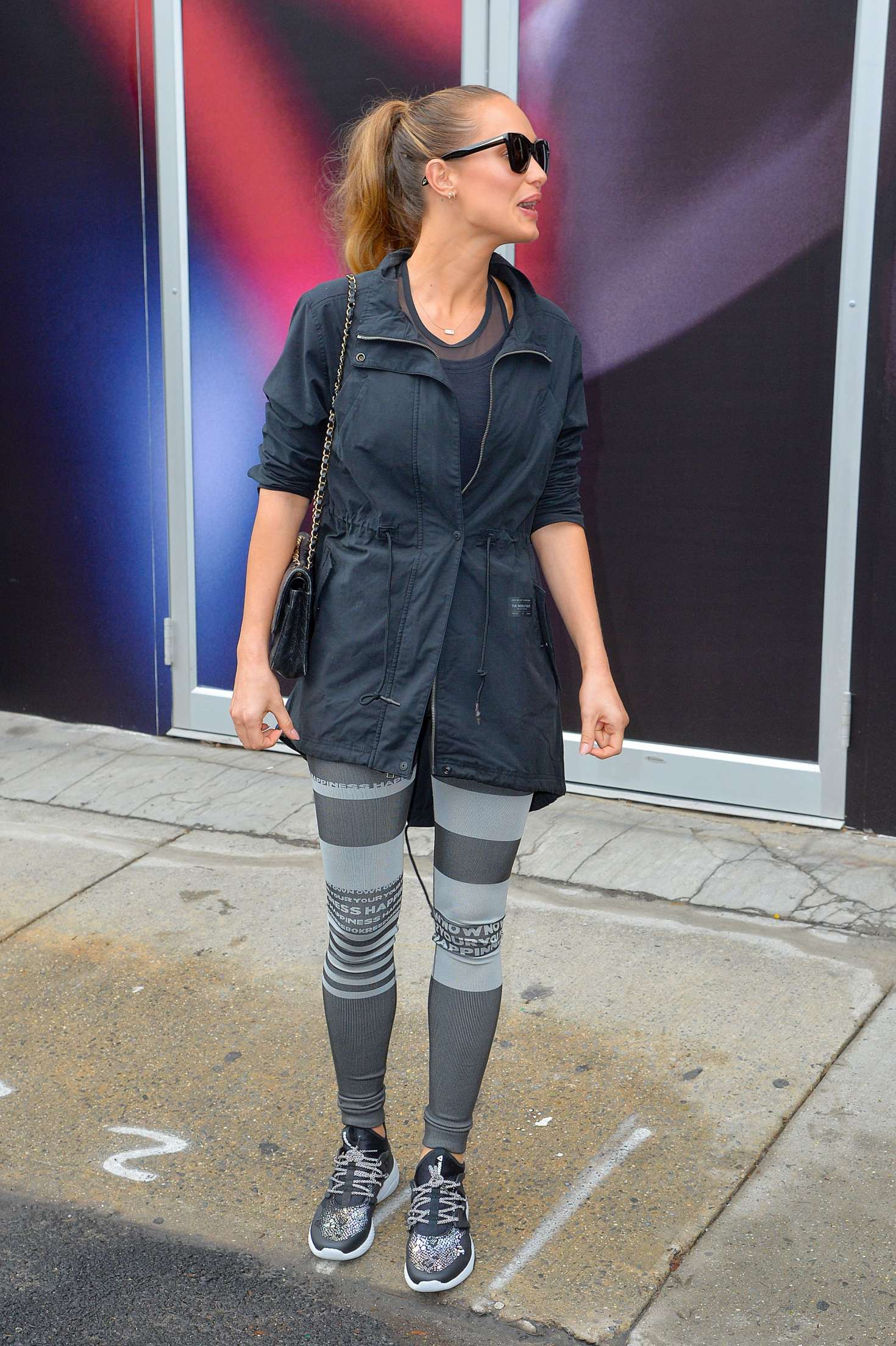 Hannah Davis out and about in New York   Hannah-Davis-out-and-about-in-New-York--12