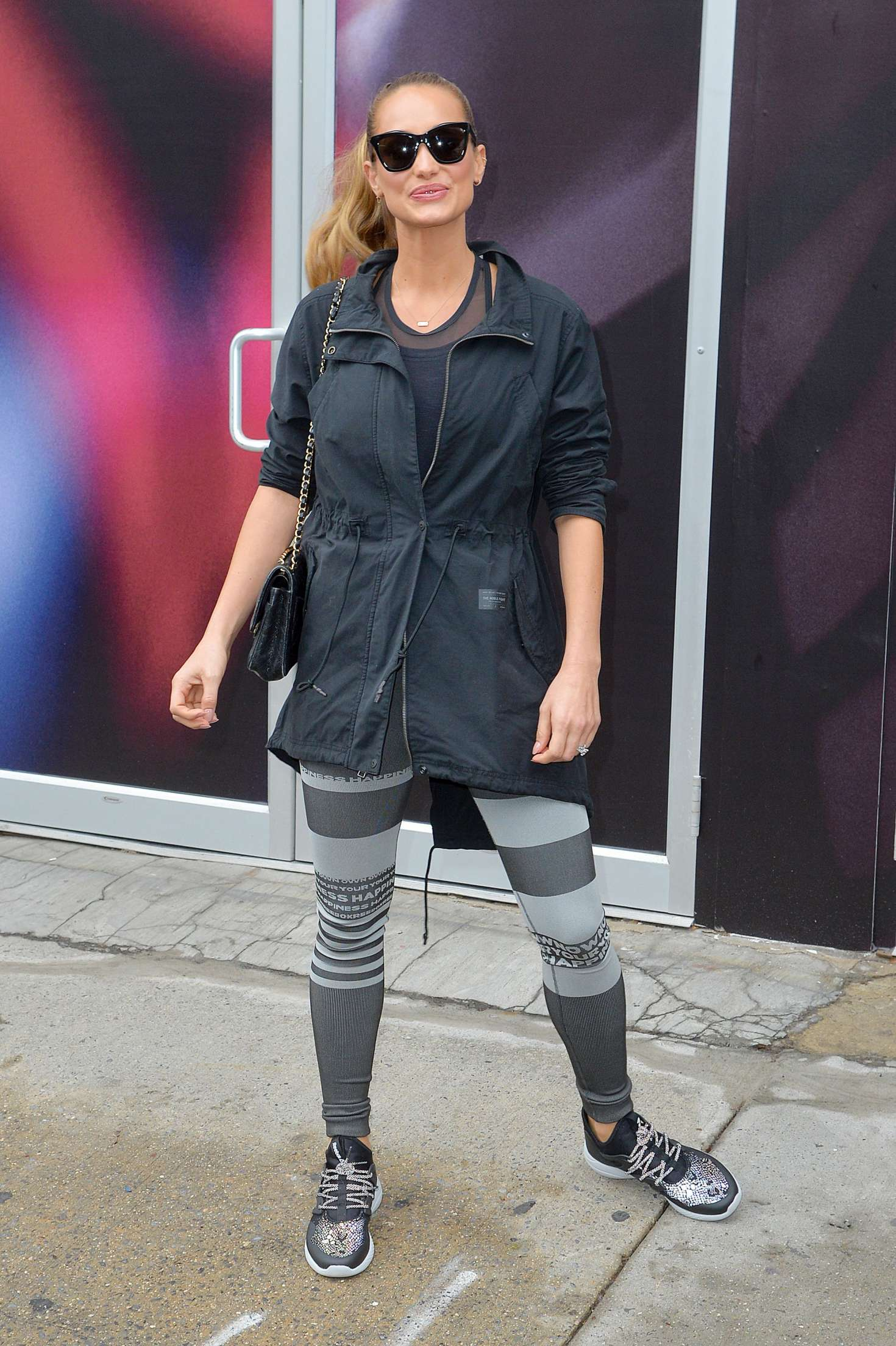 Hannah Davis out and about in New York   Hannah-Davis-out-and-about-in-New-York--13
