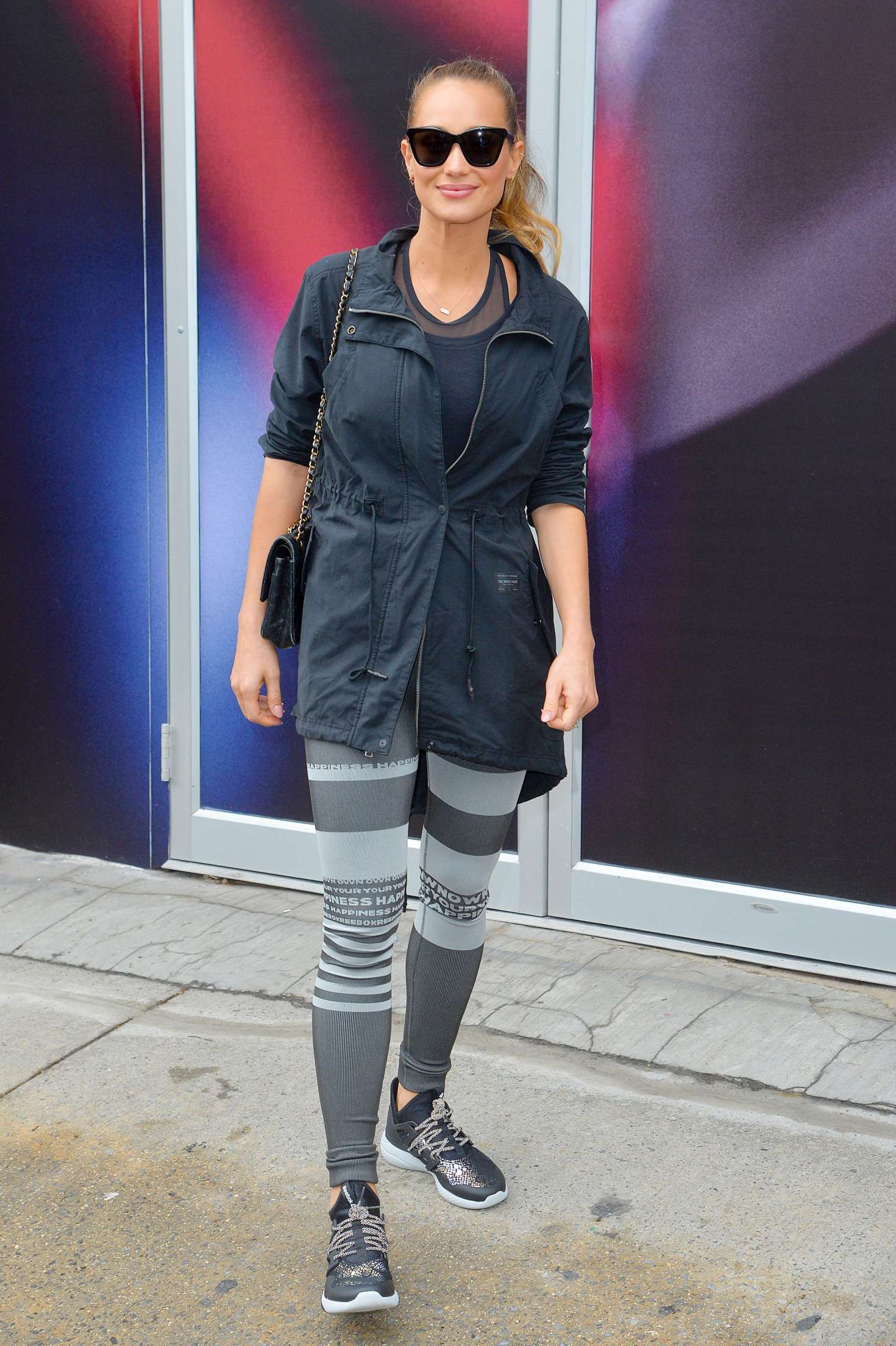 Hannah Davis out and about in New York   Hannah-Davis-out-and-about-in-New-York--14