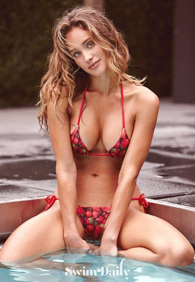 Hannah Davis - SI Swim Photoshoot (July 2015)