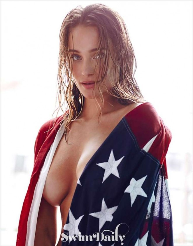 Hannah Davis: SI Swim Photoshoot 2015 -08
