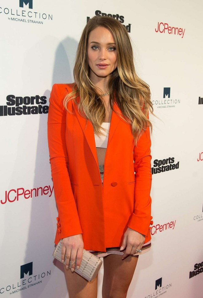 Hannah Davis - Sports Illustrated's Fashionable 50 NYC Event in New York