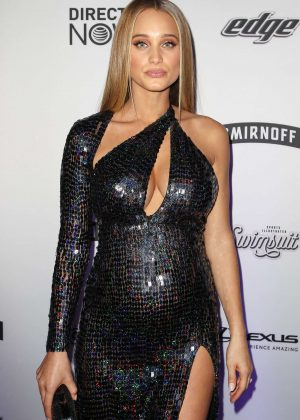 Hannah Davis - Sports Illustrated Swimsuit Edition Launch Event in NY