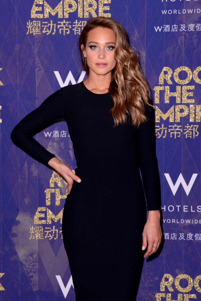 Hannah Davis - W Hotels kicks off of Global 'Rock the Empire' Tour in NYC