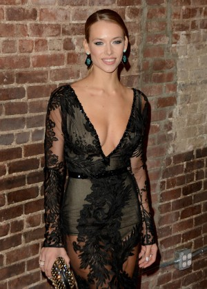 Hannah Ferguson - 2015 Sports Illustrated Swimsuit Issue Celebration in NYC