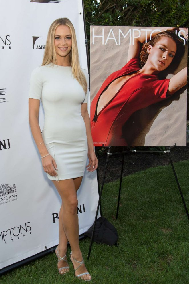 Hannah Ferguson - Hamptons Magazine Celebrates Cover Star in New York
