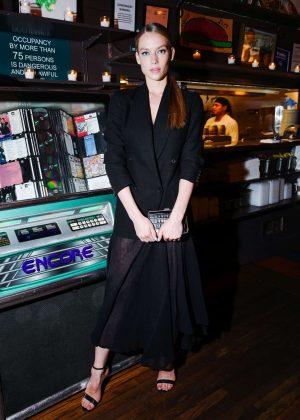 Hannah Ferguson - Michael Kors x David Downton Dinner Celebration in NYC